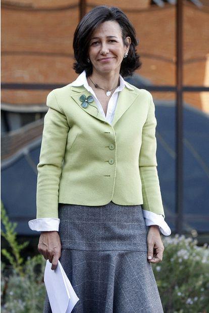 Ana Patricia Botín, el pasado octubre.