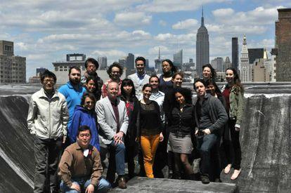 Equipo del neurocientífico Joseph LeDoux, en Nueva York.
