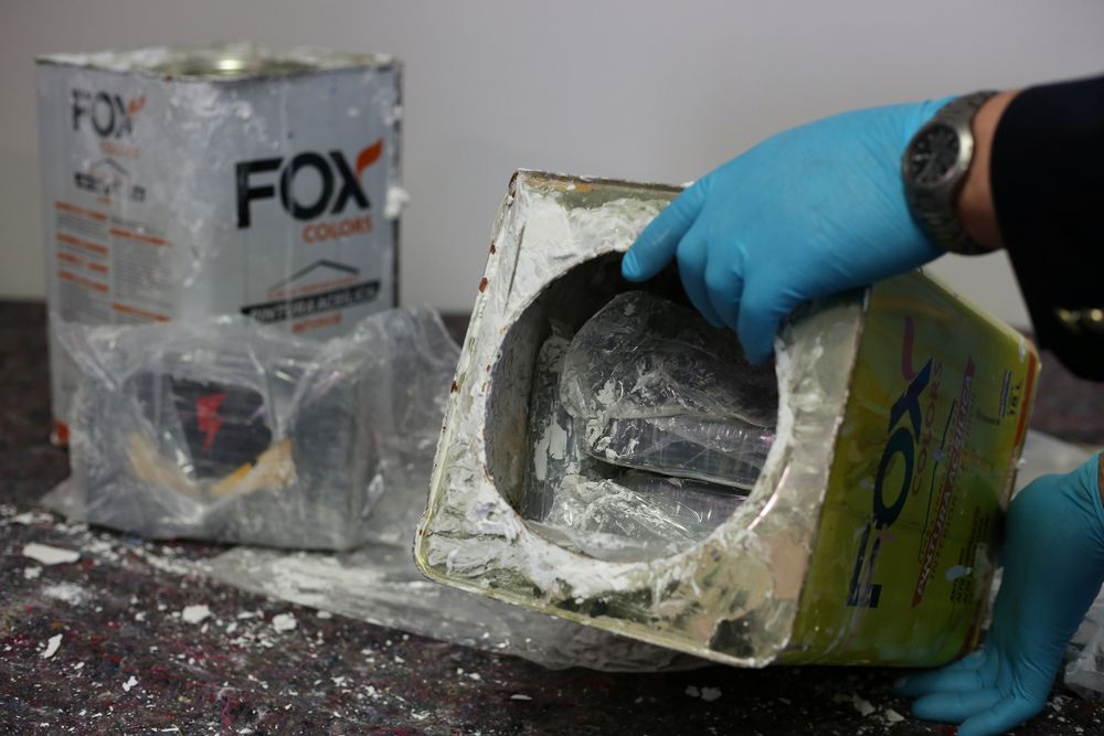 Incautadas 23 toneladas de cocaína, el mayor alijo de la historia de Europa