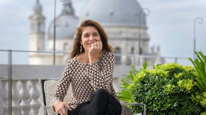 Catherine Marcel, conservadora jefa del Centro Pompidou y comisaria de la 57ª Bienal de Venecia.