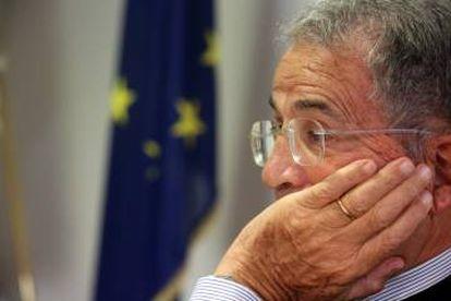 Romano Prodi, durante la entrevista.