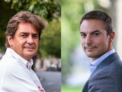 Javier Ayala y Juan Lobato.