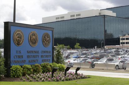 La sede de la Administración Nacional de Seguridad, en Fort Meade.