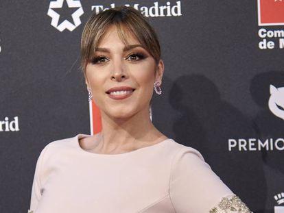 La cantante Gisela en los pasados premios Feroz, el 16 de enero. En vídeo, el tema 'Mucho más allá', de 'Frozen II'.
