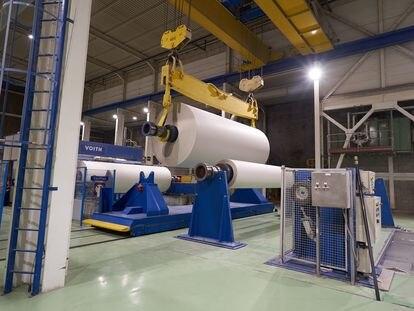 Papresa ha encargado su cambio de maquinaria a la alemana Voith.