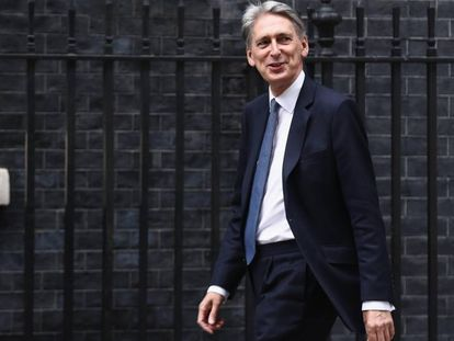 El nuevo ministro de Finanzas, Philip Hammond.