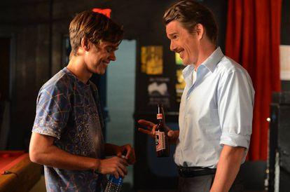 Ellar Coltrane y Ethan Hawke como padre e hijo en 'Boyhood' (Richard Linklater, 2014), una de las grandes películas contemporáneas sobre lo que significa crecer.