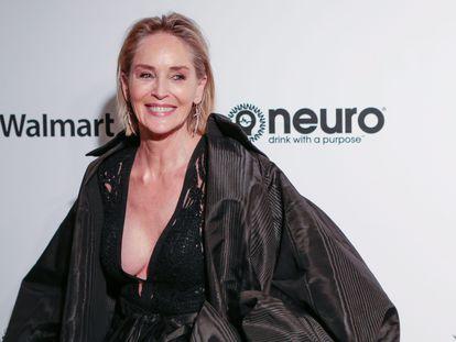 Sharon Stone, en Los Ángeles (California, Estados Unidos), este mes