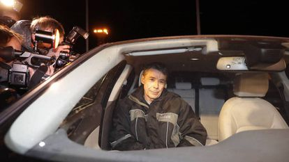 Ignacio González, tras su salida de la cárcel el pasado 8 de noviembre.