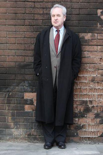 El escritor John Banville, en Dublin.