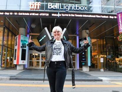 La directora Michelle Latimer durante el Festival Internacional de Cine de Toronto, en septiembre del año pasado.