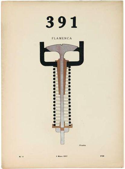 Ilustraciones de Francis Picabia para la revista '391'.