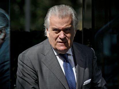 Luis Bárcenas, extesorero del PP, a su salida de la Audiencia Nacional el pasado 16 julio.