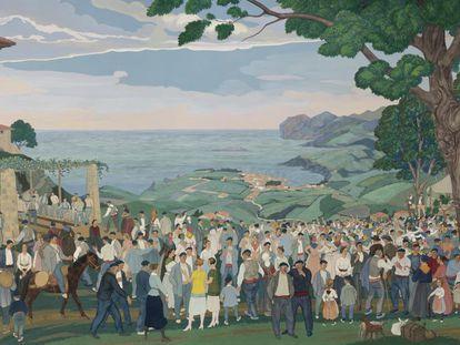 'Fiesta popular' (1926), de José Arrúe.
