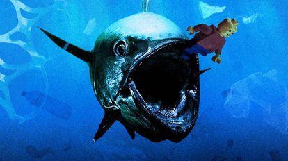 El documental 'Hondar 2050' lanza un toque de alerta sobre la basura marina.
