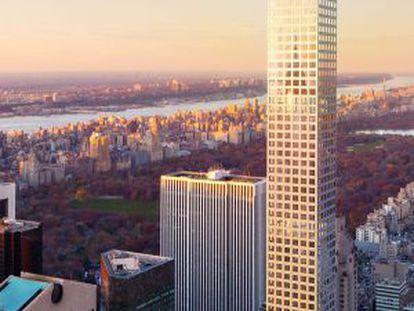 Edificio 432 Park Avenue de Nueva York.
