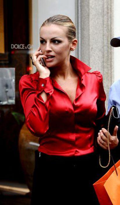 Francesca Pascale, este verano en Milán.