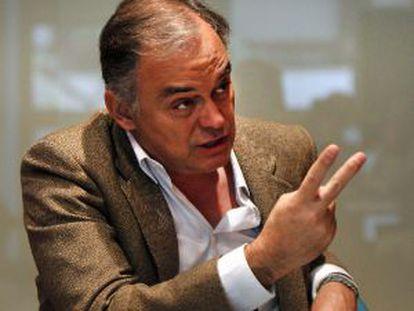 Esteban González Pons, durante la entrevista.