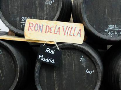 Barricas para elaborar Ron de la Villa.