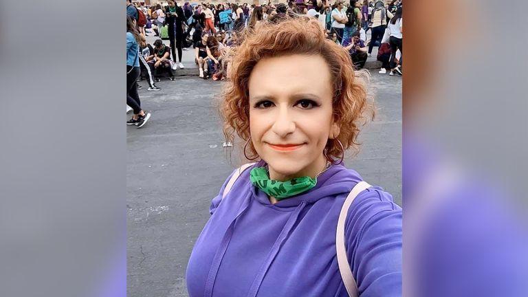La médica María Elizabeth Montaño, defensora de la atención para las personas LGBT.