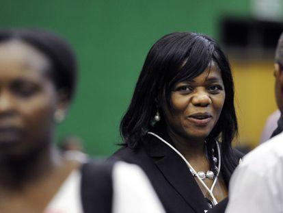 La defensora del Pueblo de Sudáfrica, Thuli Madonsela, en febrero de 2012