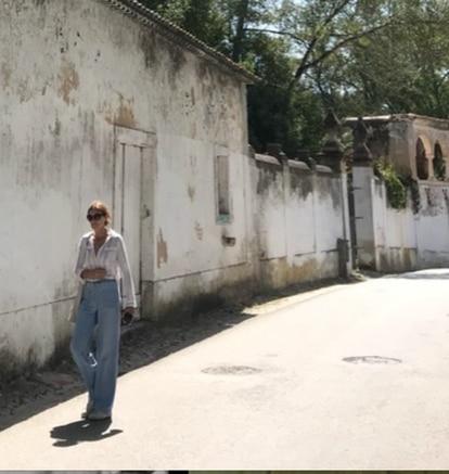 La estilista Blanca Unzueta.