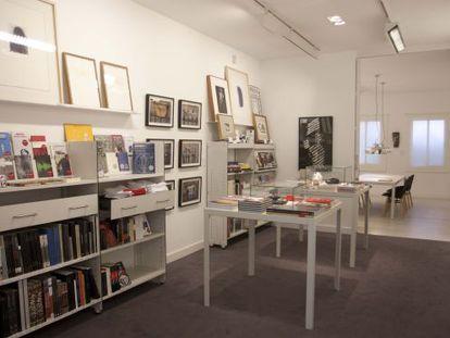 Aspecte de la nova galería de Carles Taché, La Taché.