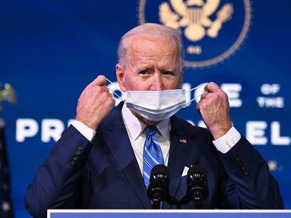 El presidente de EE UU, Joe Biden, el pasado enero.