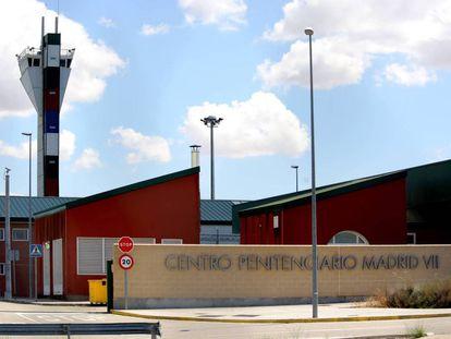 Exterior del Centro Penitenciario Madrid VII, en la localidad de Estremera.