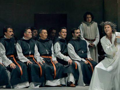 Imagen de 'Parsifal', la nueva producción de Uwe Eric Laufenberg.