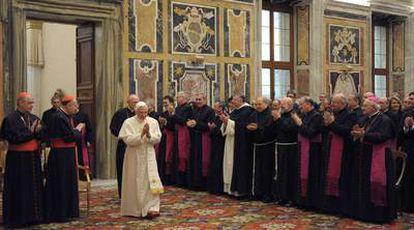 Benedicto XVI, el sábado pasado, en el Vaticano.