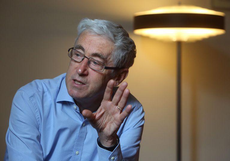 Paul de Grauwe, profesor de la London School of Economics, en Alcalá de Henares.