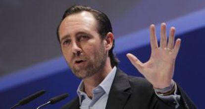 El popular José Ramón Bauzá, presidente de Baleares, el pasado abril.