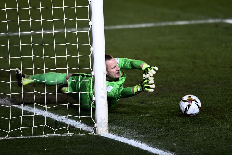 Ter Stegen, during the penalty shootout.