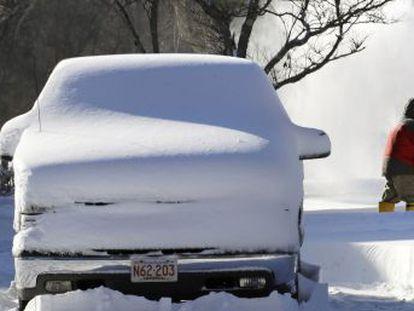 Tras la tormenta de nieve y viento dejada por el  ciclón bomba  una corriente ártica provocará rachas de aire de frío extremo