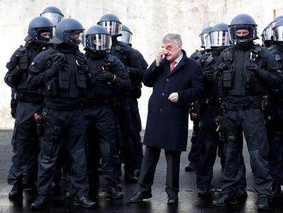 El ministro de Interior de Renania del Norte-Westfalia, Herbert Reul, en febrero del año pasado en Bochum.