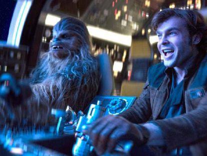 Fotograma de la película 'Han Solo: Una historia de Star Wars'. / Tráiler de la película.