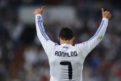 Cristiano Ronaldo celebra su gol 40 de la temporada