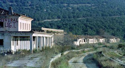 Estación abandonada de Baeza.
