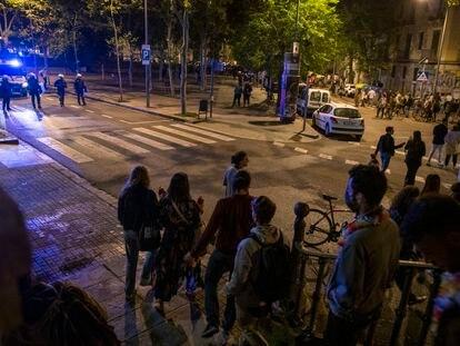 Primera noche en Barcelona sin el estado de alarma.