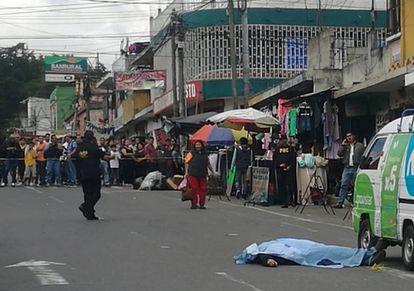 Un muerto en Ciudad de Guatemala.