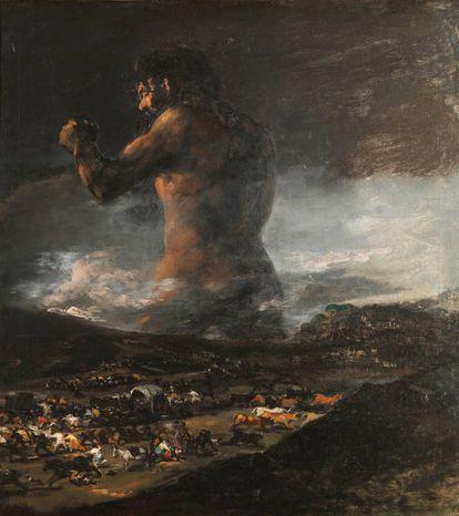 'El Coloso' siempre ha sido una obra de Goya... hasta que llegó un estudio en 2008 que lo desmintió.