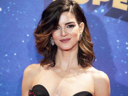 La actriz Clara Lago en el estreno de la película 'Superlopez' en Madrid, el 21 de noviembre de 2018.