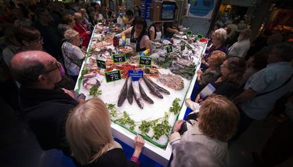 Inauguración del Mercado de Sant Antoni