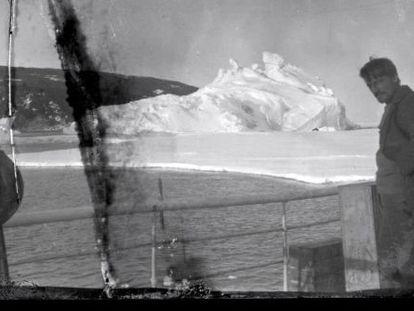 Una de las fotos del legado de Shackleton.