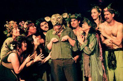 Imagen de la obra 'El sueño de una noche de verano', en versión de Tim Robbins.