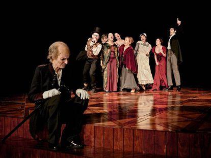Escena de 'El jardín de los cerezos', de Chéjov, dirigida por Ernesto Caballero.
