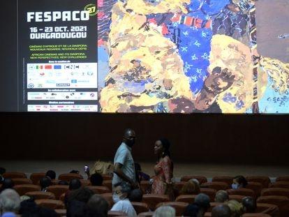 Una de las salas de proyección del festival Fespaco.