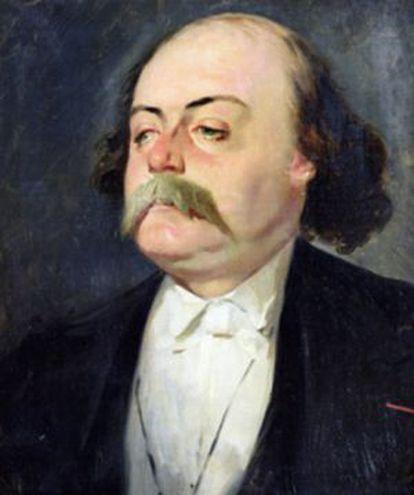 retrato de Flaubert por Giraud.
