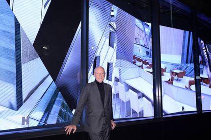 Norman Foster, el pasado 17 de noviembre en la Torre Hearst de Nueva York.